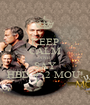 KEEP CALM AND SAY HBD #52 MOU! - Personalised Poster A1 size