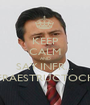 KEEP CALM AND SAY INFR... INFRAESTRUCTOCHO - Personalised Poster A1 size