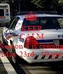 KEEP CALM AND Season 4 is coming May 23rd , 10 pm - Personalised Poster A1 size