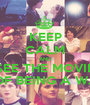KEEP CALM AND SEE THE MOVIE THE PERKS OF BEING A WALLFLOWER - Personalised Poster A1 size