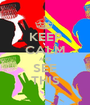 KEEP CALM AND SEE THIS - Personalised Poster A1 size