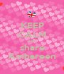 KEEP CALM AND share Ambareen - Personalised Poster A1 size