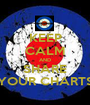 KEEP CALM AND SHARE YOUR CHARTS - Personalised Poster A1 size