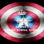 KEEP CALM AND SHINE,  SHINE SHINE SHINE - Personalised Poster A1 size