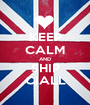 KEEP CALM AND SHIP CIALL - Personalised Poster A1 size