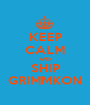 KEEP CALM AND SHIP GRIMMKON - Personalised Poster A1 size