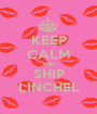KEEP CALM AND SHIP LINCHEL - Personalised Poster A1 size