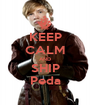 KEEP CALM AND SHIP Peda - Personalised Poster A1 size