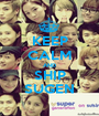 KEEP CALM AND SHIP SUGEN - Personalised Poster A1 size