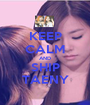 KEEP CALM AND SHIP TAENY - Personalised Poster A1 size