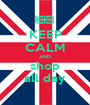 KEEP CALM AND shop all day - Personalised Poster A1 size