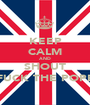 KEEP CALM AND SHOUT FUCK THE POPE - Personalised Poster A1 size