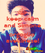 keep calm and Simone Vietri orgoglio  avellinese! - Personalised Poster A1 size