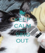 KEEP CALM AND SING OUT - Personalised Poster A1 size