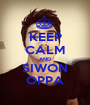 KEEP CALM AND SIWON OPPA - Personalised Poster A1 size