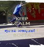 KEEP CALM AND SKATE WITH BOETA - Personalised Poster A1 size