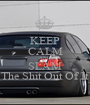 KEEP CALM AND SLAM The Shit Out Of It - Personalised Poster A1 size