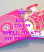 KEEP CALM AND SMELL...THAT'S MY PERFUME  - Personalised Poster A1 size