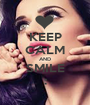 KEEP CALM AND SMILE : - Personalised Poster A1 size