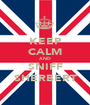 KEEP CALM AND SNIFF SHERBERT - Personalised Poster A1 size