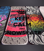 KEEP CALM AND SNOWSKATE  - Personalised Poster A1 size