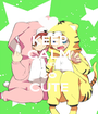 KEEP CALM AND so CUTE - Personalised Poster A1 size