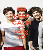 KEEP CALM AND song 1D - Personalised Poster A1 size