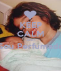 KEEP CALM AND Sou Perfumada  - Personalised Poster A1 size