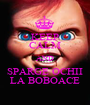 KEEP CALM AND SPARGE OCHII LA BOBOACE - Personalised Poster A1 size
