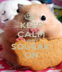KEEP CALM AND SQUEAK ON - Personalised Poster A1 size