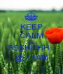 KEEP CALM AND SSSHHHH... @ 11AM - Personalised Poster A1 size