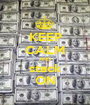 KEEP CALM AND stack ON - Personalised Poster A1 size