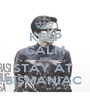 KEEP CALM AND STAY AT  BISMANIAC  - Personalised Poster A1 size