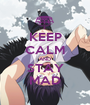 KEEP CALM AND STAY MAD - Personalised Poster A1 size