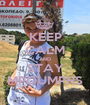 KEEP CALM AND STAY MPOUMPHS - Personalised Poster A1 size