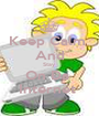 Keep Calm  And Stay  On Da  Internet  - Personalised Poster A1 size