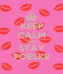 KEEP CALM AND STAY POESKE - Personalised Poster A1 size