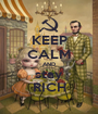 KEEP CALM AND stay RICH - Personalised Poster A1 size
