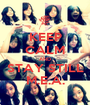 KEEP CALM AND STAY STILL M.E.A. - Personalised Poster A1 size