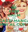 KEEP CALM AND STI CAZZI MANCANO 16 GIORNI AL CONCERTO - Personalised Poster A1 size