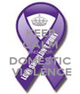 KEEP CALM AND STOP DOMESTIC  VIOLENCE - Personalised Poster A1 size