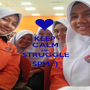 KEEP CALM AND STRUGGLE SPM :) - Personalised Poster A1 size
