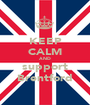 KEEP CALM AND support Brentford - Personalised Poster A1 size