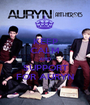 KEEP CALM AND SUPPORT FOR AURYN - Personalised Poster A1 size