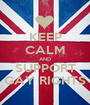 KEEP CALM AND SUPPORT GAY RIGHTS - Personalised Poster A1 size