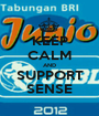 KEEP CALM AND SUPPORT SENSE - Personalised Poster A1 size