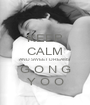 KEEP CALM AND SWEET DREAMS G O N G Y O O - Personalised Poster A1 size