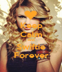 Keep Calm And Swiftie Forever - Personalised Poster A1 size