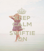 KEEP CALM AND SWIFTIE ON - Personalised Poster A1 size
