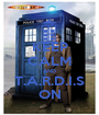 KEEP CALM AND T.A.R.D.I.S ON - Personalised Poster A1 size